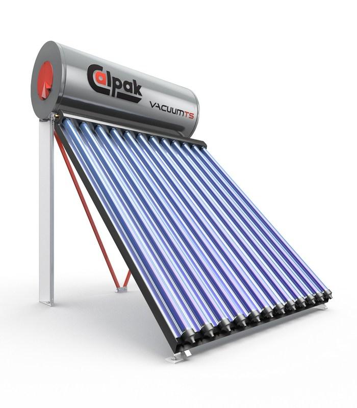 Ηλακός Calpak Vacuum TS. Θερμοσίφωνες Calpak.