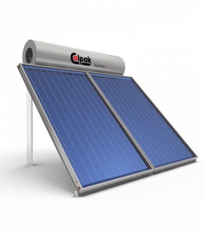 Ηλιακός Θερμοσίφωνας Calpak Mark4 Διπλός Συλλέκτης